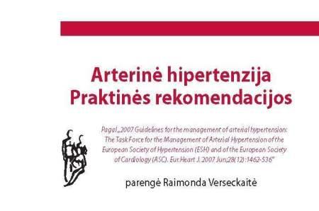 sveikatos knygos hipertenzija)